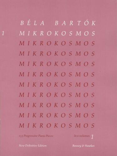 Mikrokosmos Volume 5 Pink - Piano NEW Bartok 048011052