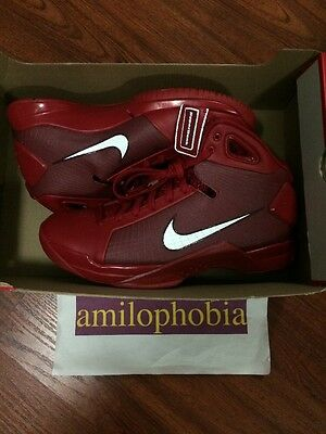 New Men's Nike Hyperdunk 08 Size 11 Red White Basketball Shoes