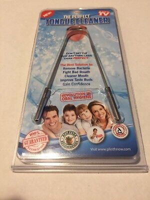The Perfect Tongue Cleaner   As Seen On Tv  Oral Hygiene Care Product