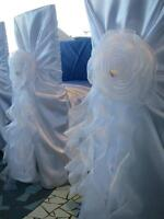 $3.99 chair cover rental!