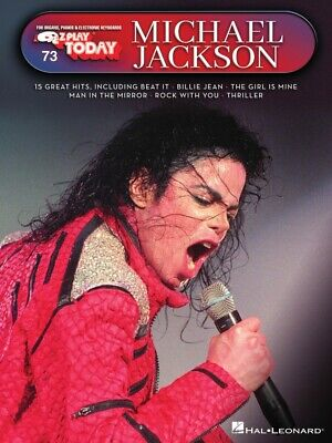 Michael Jackson Sheet Music E-Z Play Today Piano Book NEW 000237558 Michael Jackson Piano Sheet Music