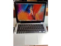 Apple MacBook Pro (13-inch, early 2011), 2.3Ghz Intel Core i5, 320GB HD, 4GB RAM, macOS Sierra 2017