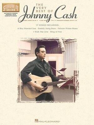 The Very Best of Johnny Cash Sheet Music Strum It Guitar Book NEW (Johnny Cash Guitar Book)