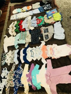 Baby boy's clothes size 0000 for sale $80 or best offer