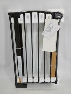 "Regalo Walk Thru Baby Gate, 4"" Extension Kit & Pressure/Wall Mount Kit, Bronze"