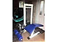 🏋️ gym Commercial Leg Curl Hamstring Machine gym body building 🏋️weights fitness as new 🏋️