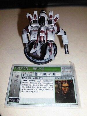 """Mechwarrior Figur  #008 """"Echo 01""""Marauder IIC + GS-A02 Pilotenkarte Neu"""