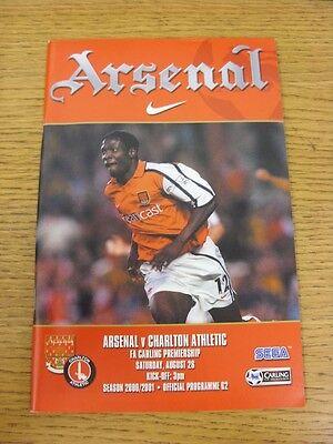 30/01/2001 Arsenal v Bradford City  (Excellent Condition)
