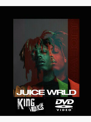 JUICE WRLD COMPLETE MUSIC VIDEO COLLECTION DVD Ft Bandit, Robbery, Lucid -