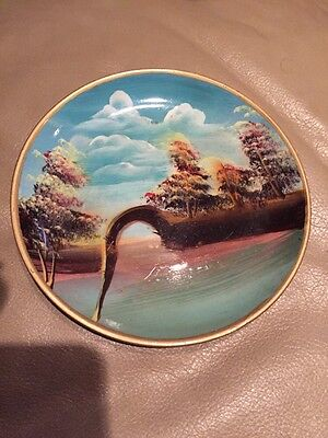 Island Theme Decorative Plate  (Island Themed Decorations)
