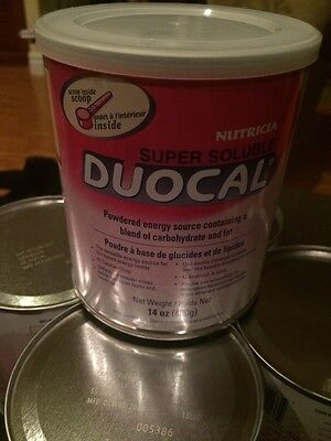 Nutricia Super Soluble Duocal Six (6) 14oz Cans