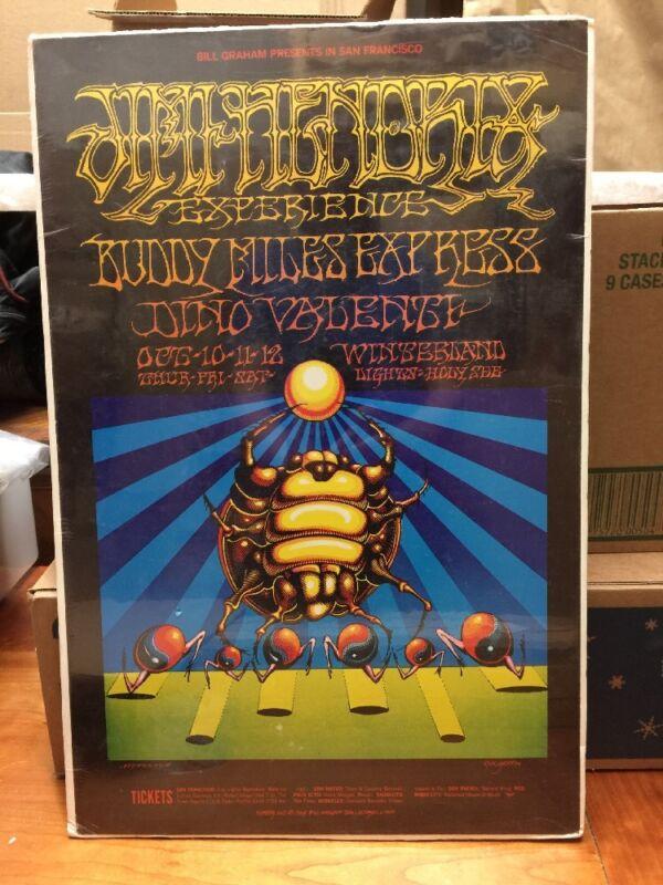 Hendrix Rock concert Poster.