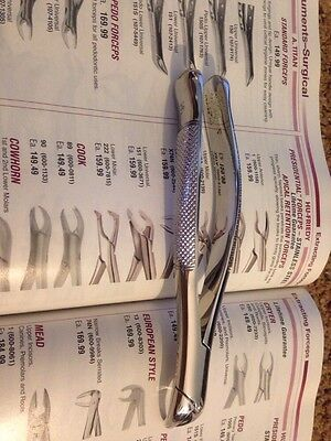 Lot Of 3 Hu Friedy Lower Universal Forceps 151 Retail 184.99