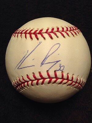 HORACIO RAMIREZ Signed Autographed Major League Baseball Single Auto BRAVES