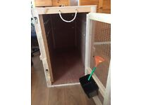 Giant Dog Transport Crate Cage Airline Compliant Wood