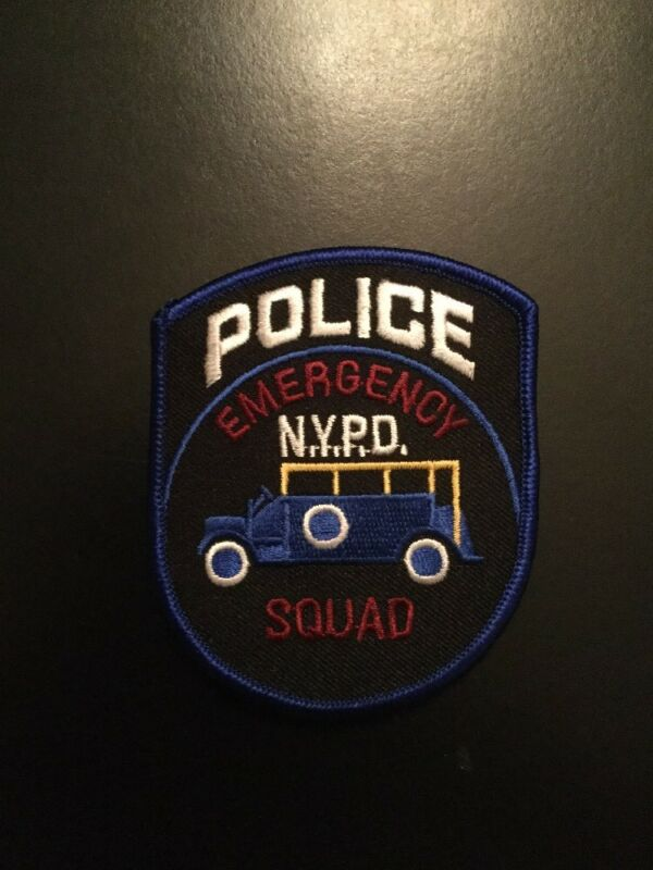 NY COLLECTIBLE Police Emergency Service (1) Patch  Only 2 Left