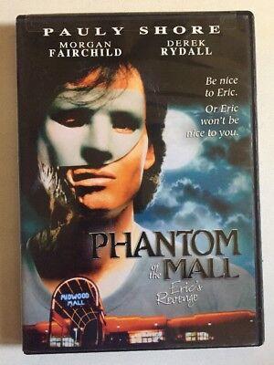 Phantom of the Mall - Erics Revenge (DVD, 2006) Morgan Fairchild Pauly Shore (The Shore Mall)