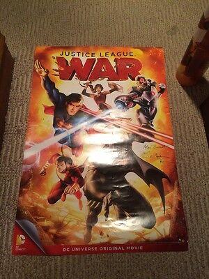 """DC Comics Justice League War 24"""" X 36"""" Poster Superman Batman"""