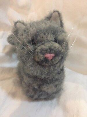 American Girl Doll Pet Kitten Cat Praline Gray Stripe Kitty CUTE!