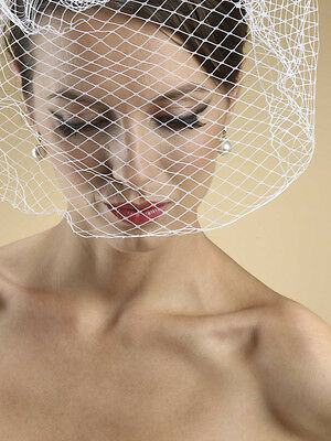 Birdcage Veil on Comb Weddings Ivory Bridal NWT