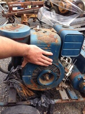 Vintage Antique 1950s Briggs Model 14 Vintage 5 Hp Stationary Generator Engine