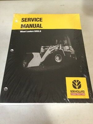 New Holland Lw50.b Wheel Loader Service Manual