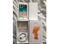iPhone 6s Unlocked 16GB Rose Gold Immaculate Condition