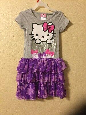 Hello Kitty Tutu Kleid Mädchen GRÖSSE 6 6X)
