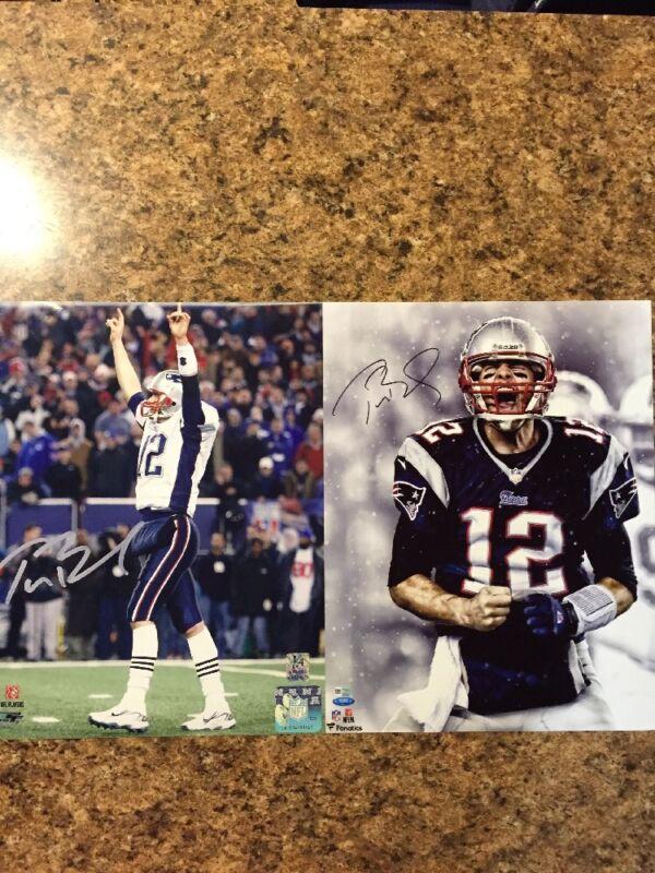 Tom Brady 8 X 10 Color Autograph Photo Reprint