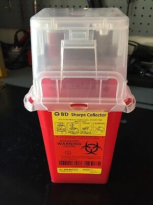 Bd Sharps Collector Needle Disposal Container 1.5 Qts