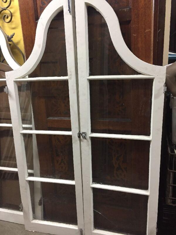 Spanish Tudor Style Arched Arc Windows