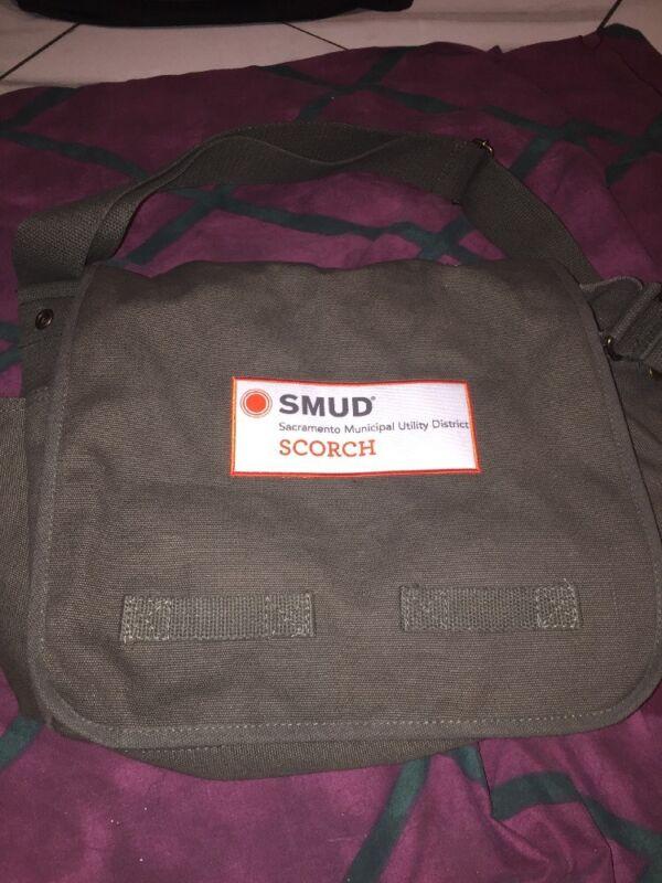SMUD Sacramento Municipal Utility District California Employee Messenger Bag