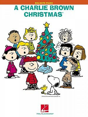 A Charlie Brown Christmas Sheet Music Big Note Songbook NEW 000316068