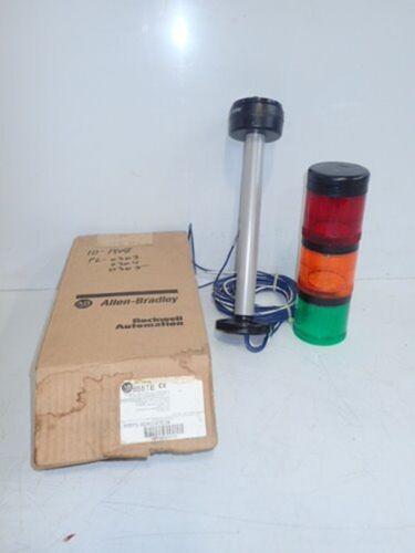ALLEN BRADLEY 855TE-B24D3D5D4 TOWER STACK LIGHT ASSEMBLY (NEW IN BOX)
