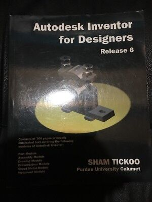 Autodesk Inventor For Designers Release 6 Brand New