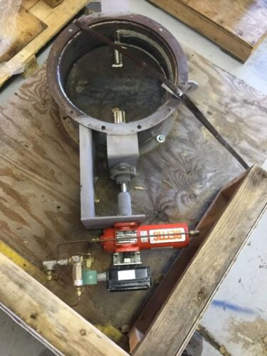 16 Effox Flextor Hvac Ss Damper W Bettis Cbb315 Actuator