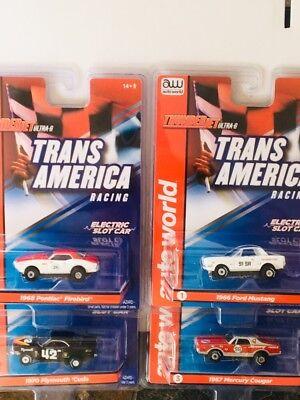 NEW Auto World Trans Am Racing HO Slot Car Set  Run on Aurora & AFX