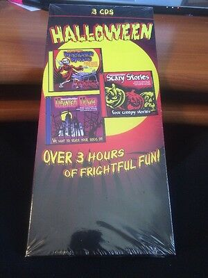 Scary Halloween Music and More...3 CD's...Over 3 hours of frightful fun! - Fun Halloween Music