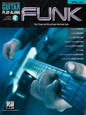 Funk Sheet Music Guitar Play-Along Book and Audio NEW 000699728 ()