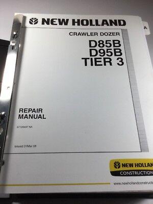 New Holland D85b D95b Tier 3 Crawler Dozer Service Repair Manual