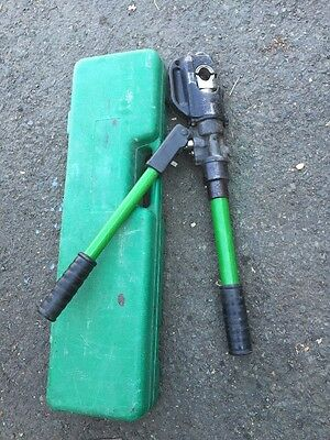 Greenlee Hkl1230 Hydraulic Hand Crimper W Case 1989 1990