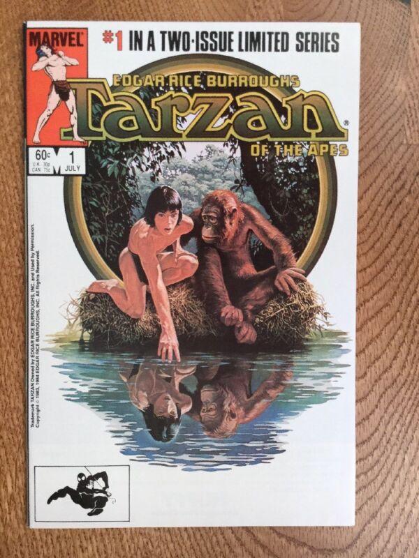 Tarzan Of The Apes #1 (Marvel) 1984