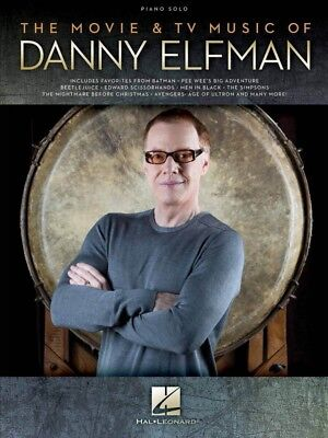 The Movie & TV Music of Danny Elfman Sheet Music Piano Solo Composer 000194360