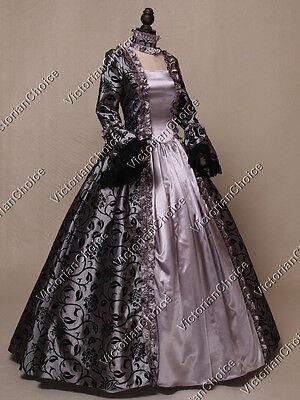 Renaissance Gothic Fantasy Ball Gown Dress Reenactment Theater Steampunk - Renaissance Gowns