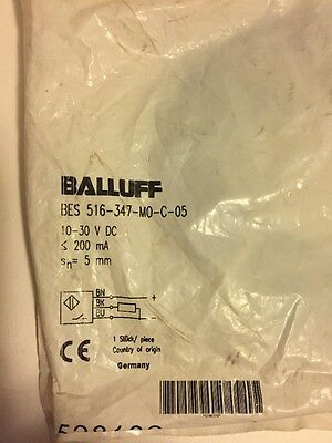 Balluff Bes 516 147 Mo C Inductive Sensor Bs38