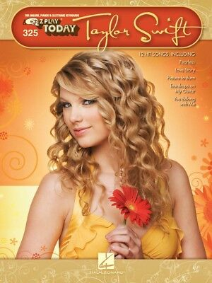 Taylor Swift Sheet Music E-Z Play Today Book NEW 000100277