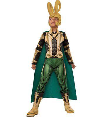 Marvel Avengers - Loki - Deluxe Child Costume
