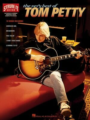 The Very Best of Tom Petty Sheet Music Strum It Guitar NEW 000699336