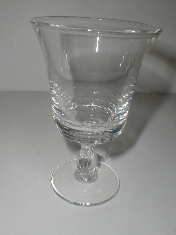 "Fostoria Crystal Clear Elegant Glass CENTURY 6"" Water Goblet (big)"