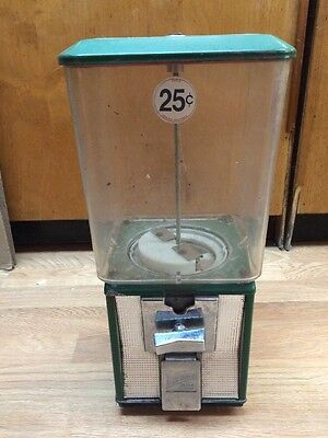 Vintage Northwestern Morris Illinois 25 Cents Gumball Machine